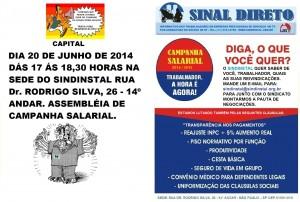 CAMPANHA SALARIAL - 2014 - 2015 - capital